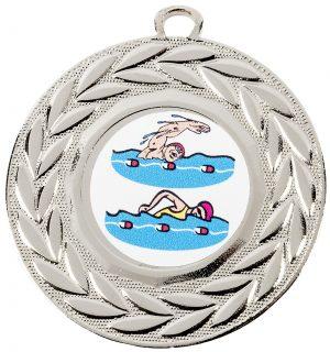 silver medal, swimmer