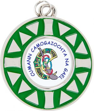silver, green medal, celtic, GAA, gaelic