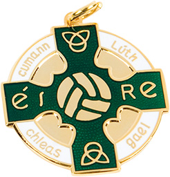 green, gold medal, gaelic football