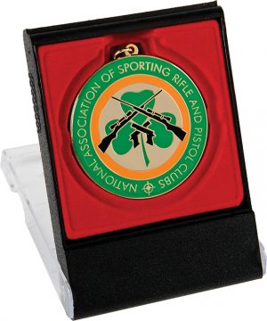 rifle club, shamrock medal