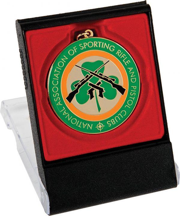 rifle club, shamrock medal