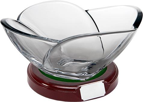 glass bowl trophy
