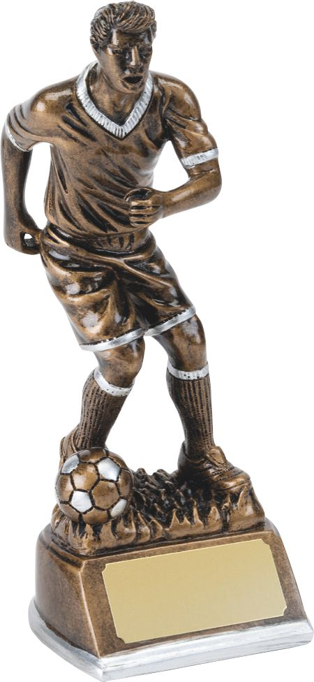 male, man soccer player, football player, trophy