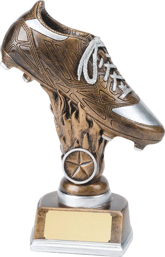 soccer boot, football boot trophy, award
