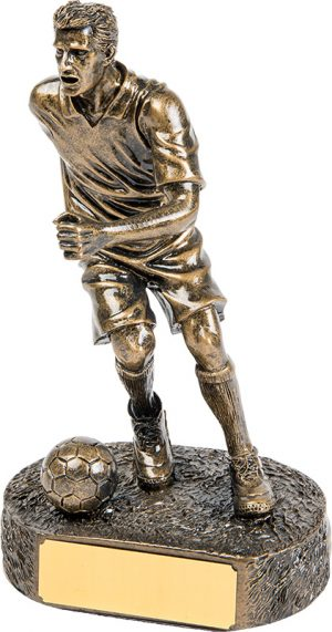 running man soccer player, football, engrave, customisable