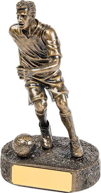 running man soccer player, football, engrave, customisable
