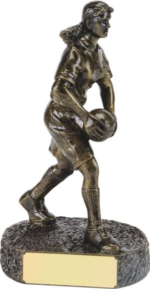 R649-50 Single Bronze Ladies Football (Small)