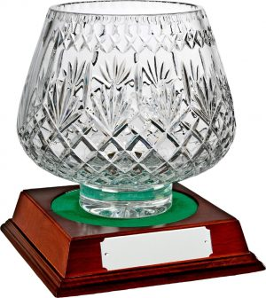 glass bowl trophy