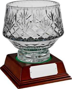 bowl glass trophy