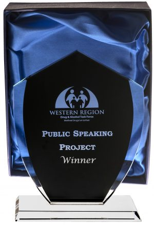 public speaking trophy