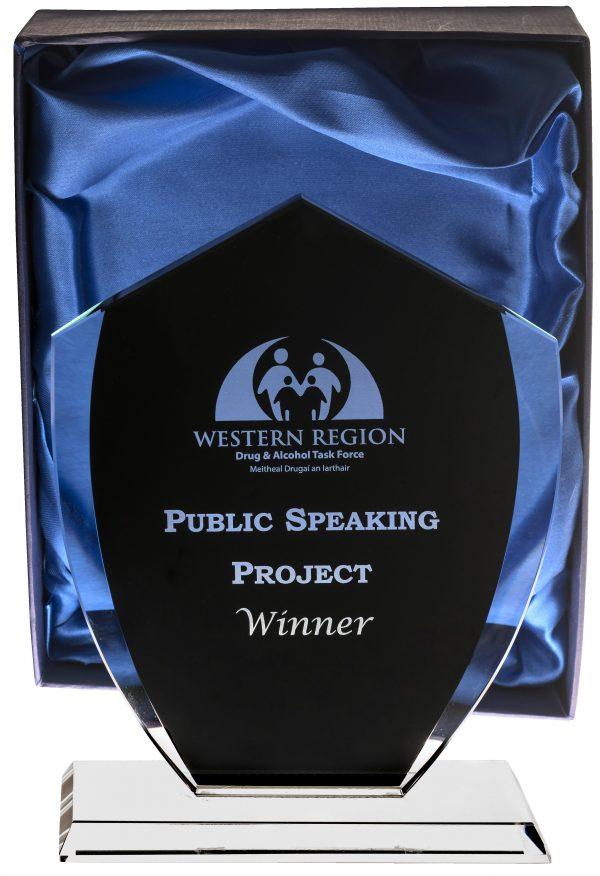 public speaking trophy